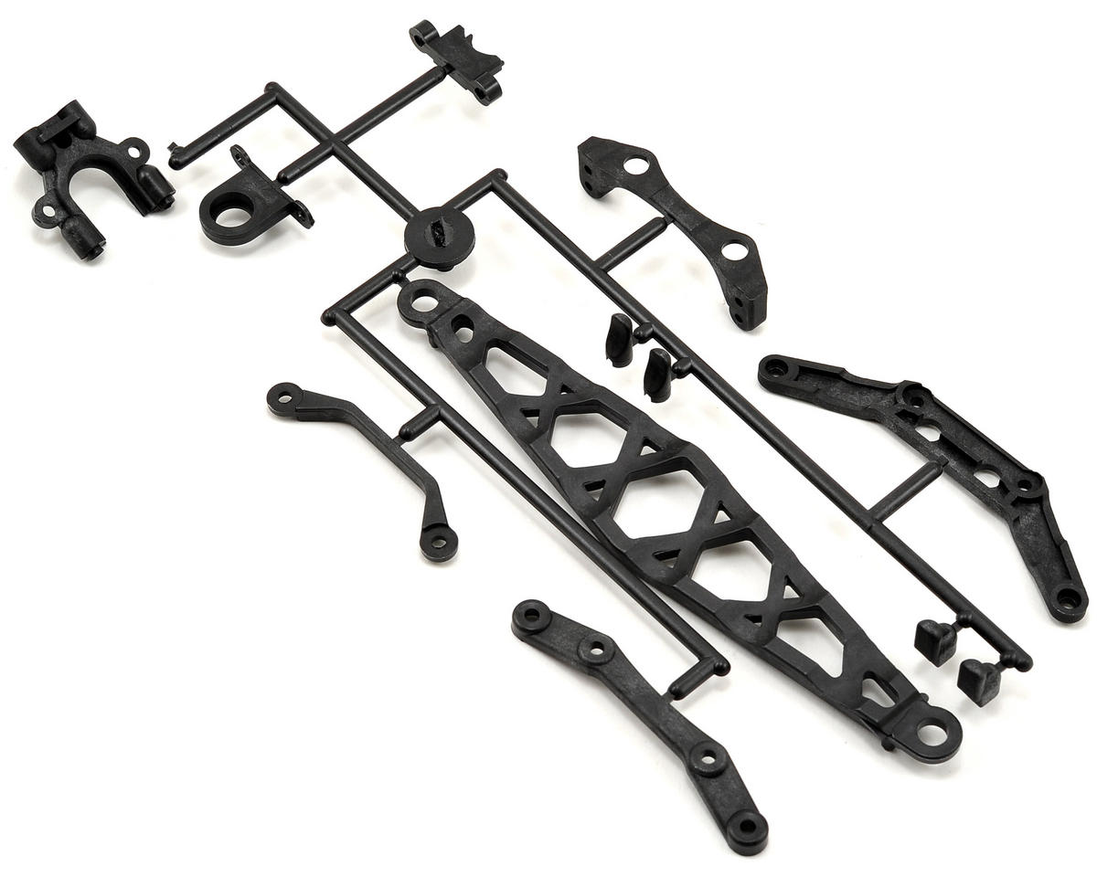 Kyosho Carbon Composite Center Mount & Stiffener Set