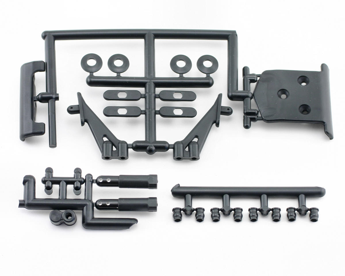 Bumper & Wing Stay Set (ZX-5) by Kyosho