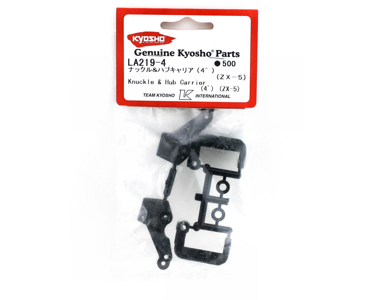 Kyosho 4 Degree Caster Knuckle Hub & Carrier (ZX-5)