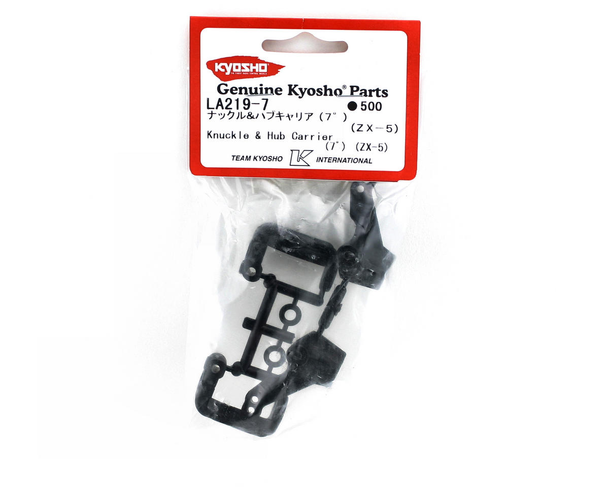 Kyosho 7 Degree Caster Knuckle Hub & Carrier (ZX-5)