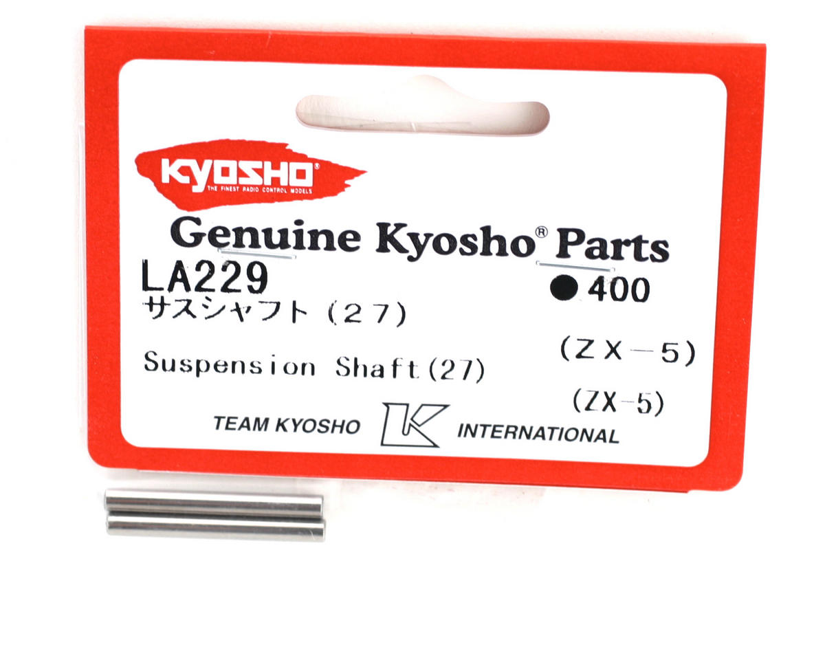 Rear Outer Suspension Shaft (27mm) (ZX-5) by Kyosho