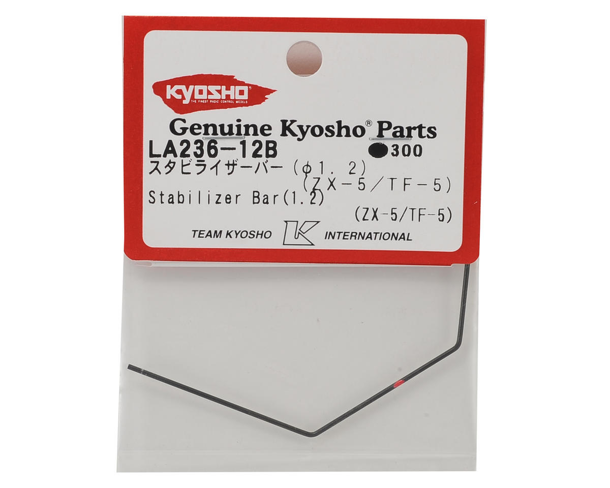 Kyosho Front or Rear Stabilizer/Sway Bar (1.2mm) (ZX-5)