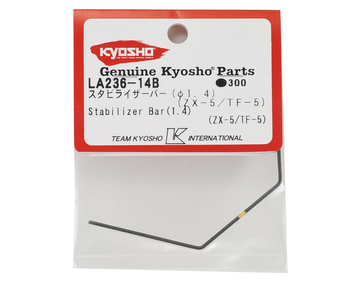 Kyosho Front or Rear Stabilizer/Sway Bar (1.4mm) (ZX-5)