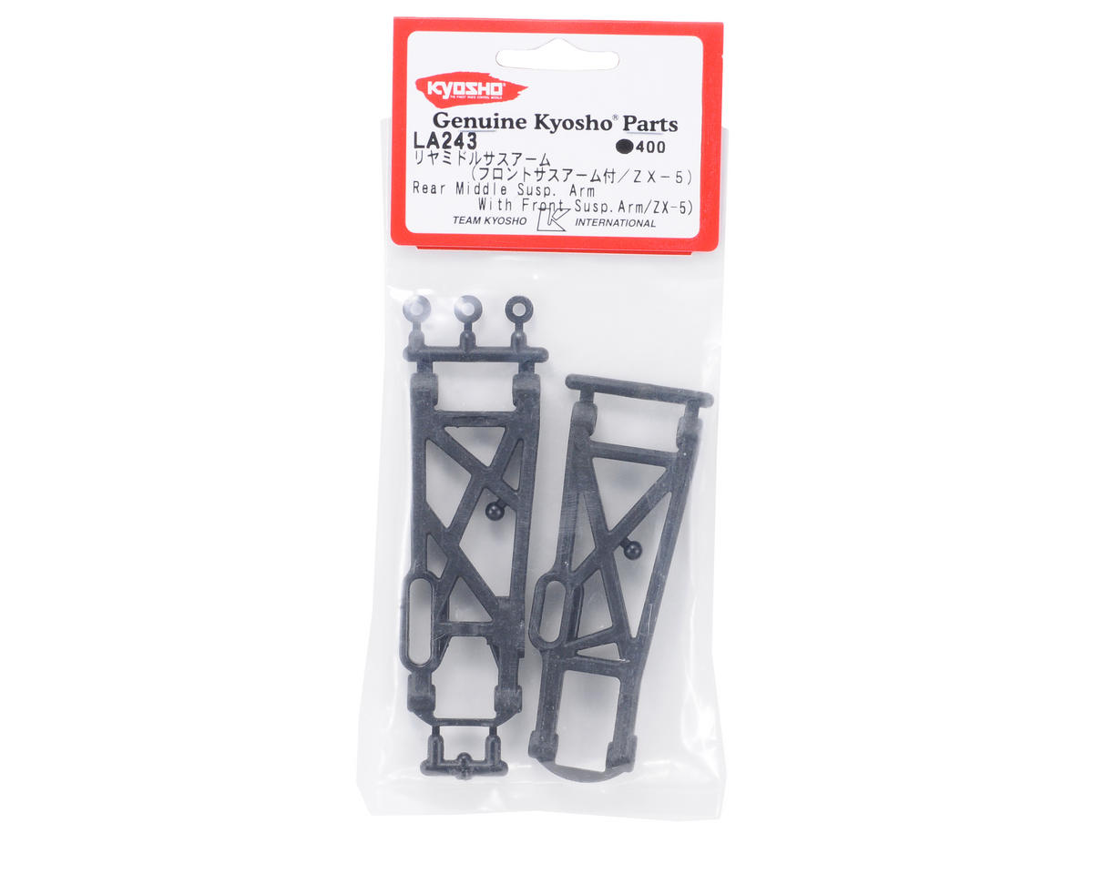 Kyosho Front/Rear Middle Suspension Arms (ZX-5) (2)