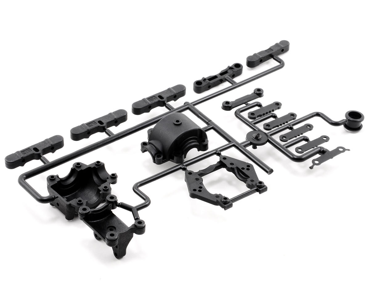 Rear Bulkhead Set (ZX-5 FS) by Kyosho