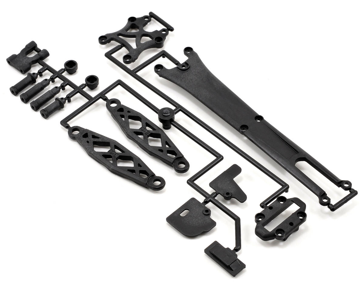 Carbon Composite Upper Plate Set (ZX-5 FS2) by Kyosho