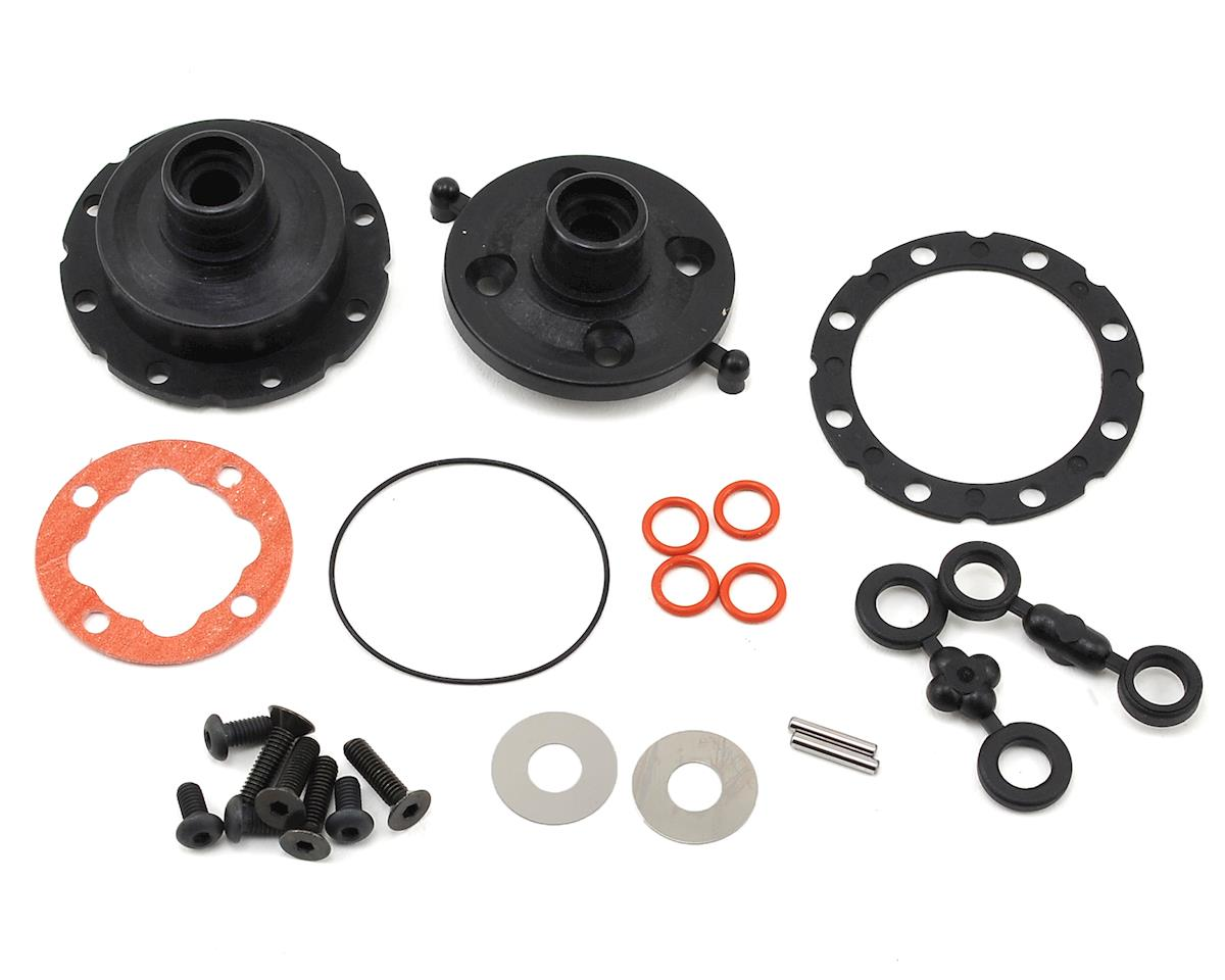 ZX6.6 Center Differential Gear Case Set by Kyosho