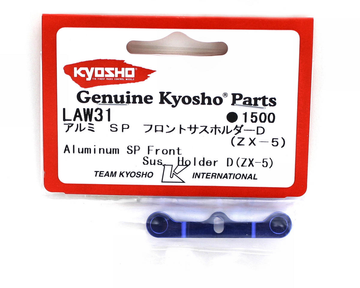 Kyosho Special Blue Aluminum Front Suspension Holder (ZX-5)