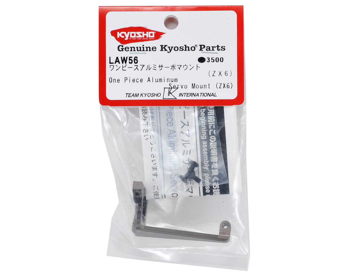 "Kyosho ZX-6 One Piece ""Floating"" Aluminum Servo Mount"
