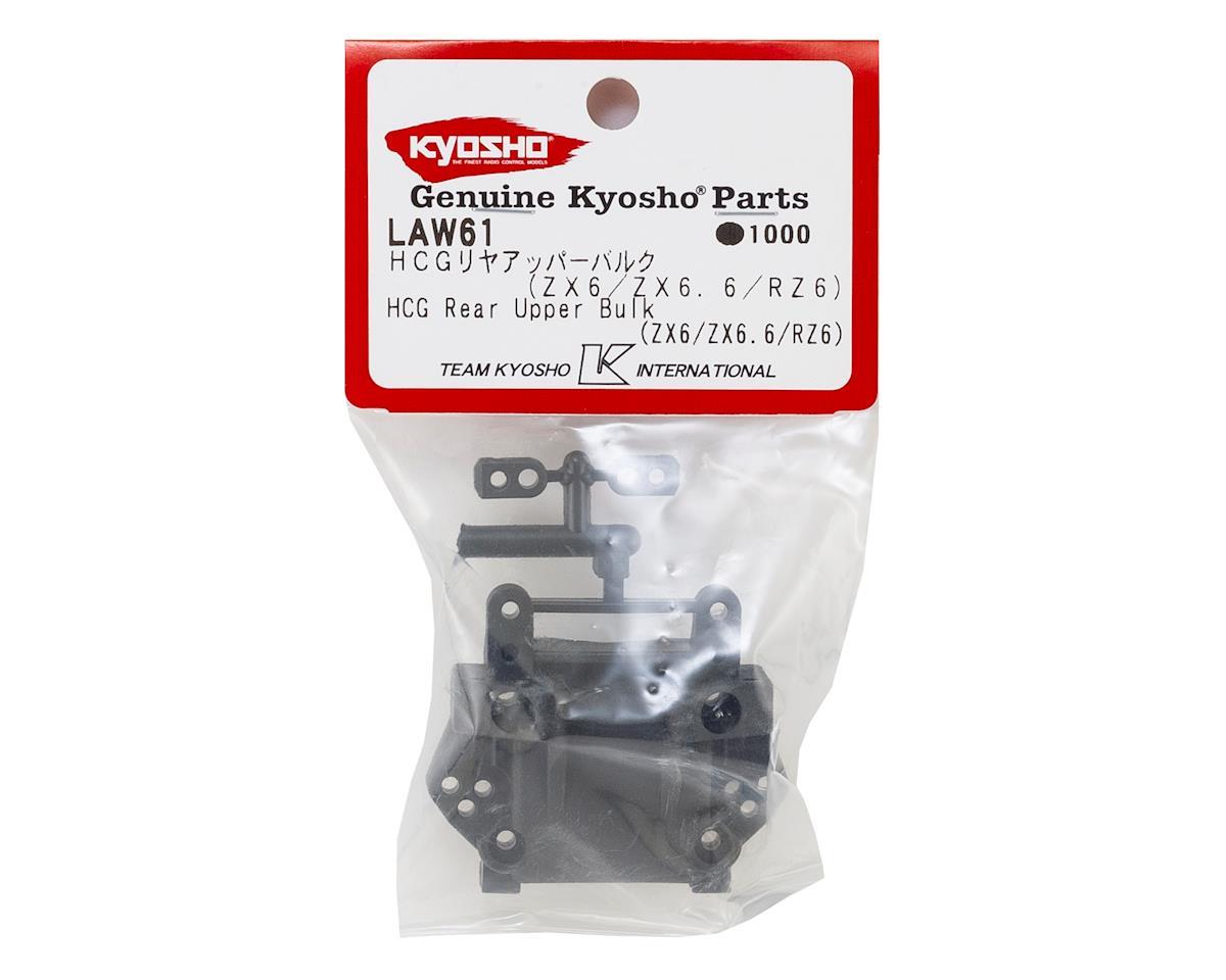 Kyosho Carbon Composite Rear Upper Bulkhead (ZX6/ZX6.6/RZ6)