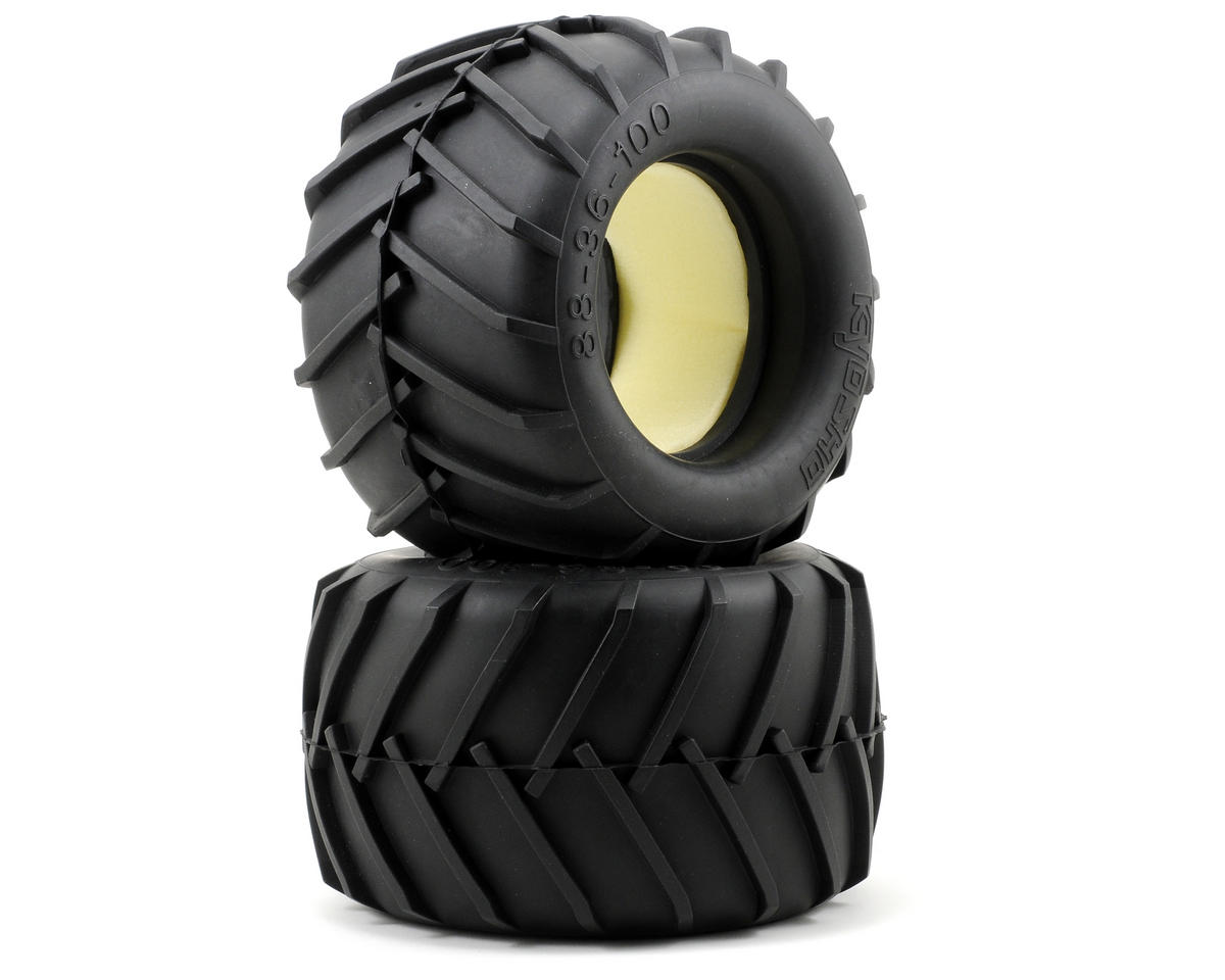 Mad Force Kruiser Tire w/Foam (2) by Kyosho