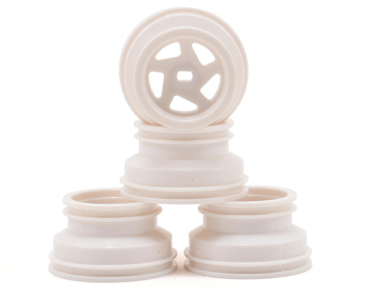 Kyosho MB-010 Mini-Z Optima Wheel Set (4) (White)