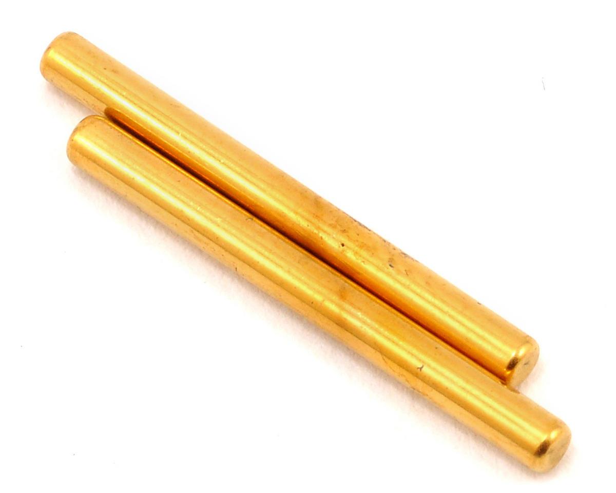 Kyosho Ti Coated Suspension Shaft Set (2) (Aluminum Mounts Only)