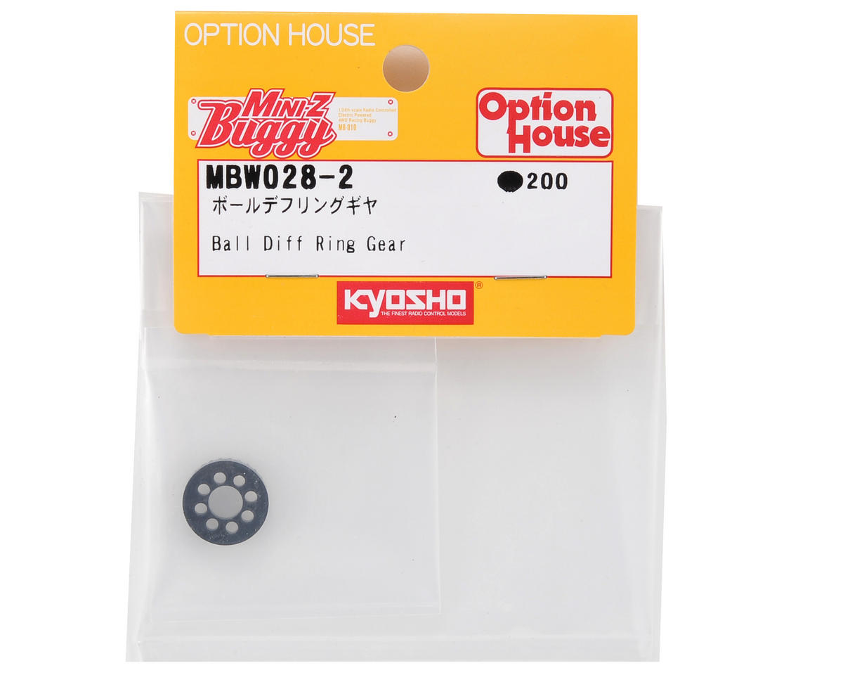 Kyosho Ball Differential Ring Gear