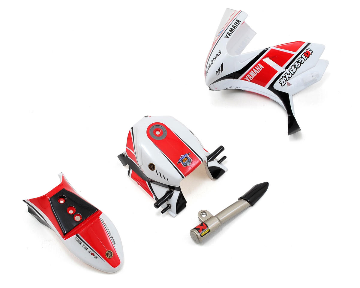 Kyosho Yamaha Body Parts Set (Red)