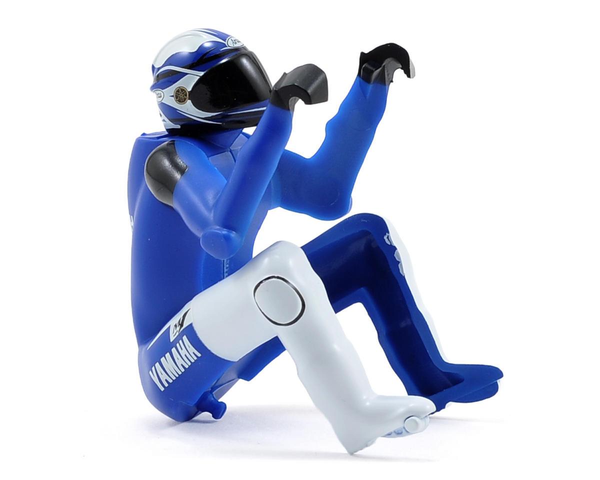 Kyosho Moto Racer Yamaha Rider Figure (Blue)