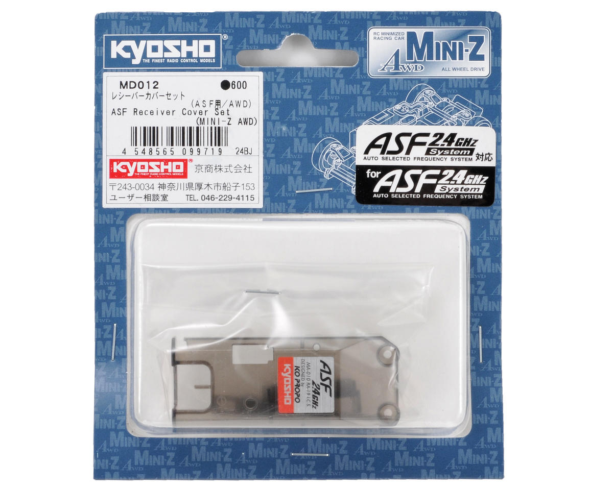 Kyosho AWD 2.4GHz Receiver Cover Set