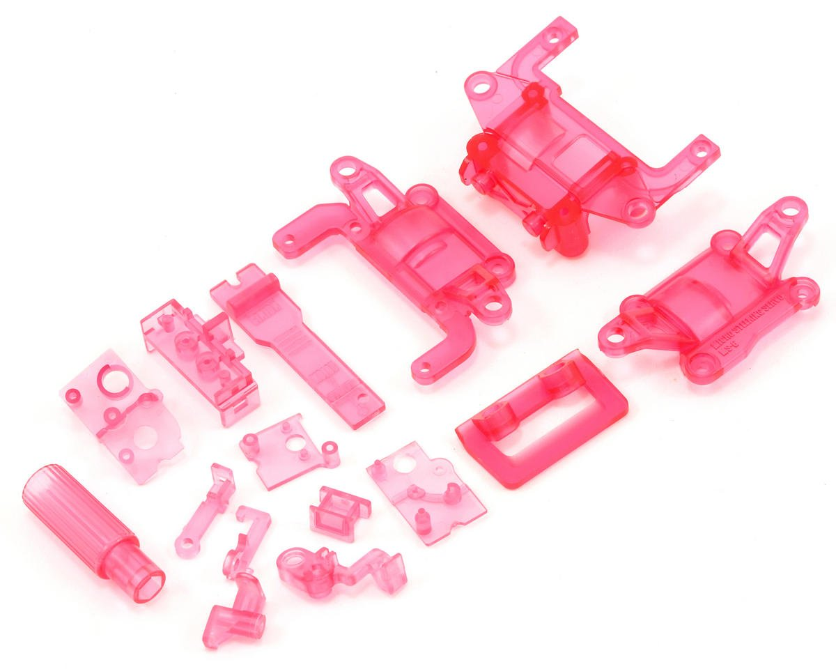 Kyosho SP Skelton Chassis Set (Clear Purple)