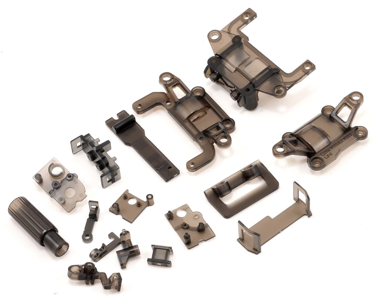 Kyosho SP Skelton Chassis Set (Clear Gray)