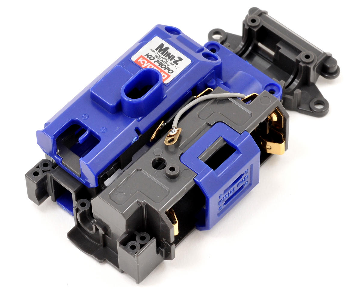 Kyosho SP Chassis Set (Gray/Blue)