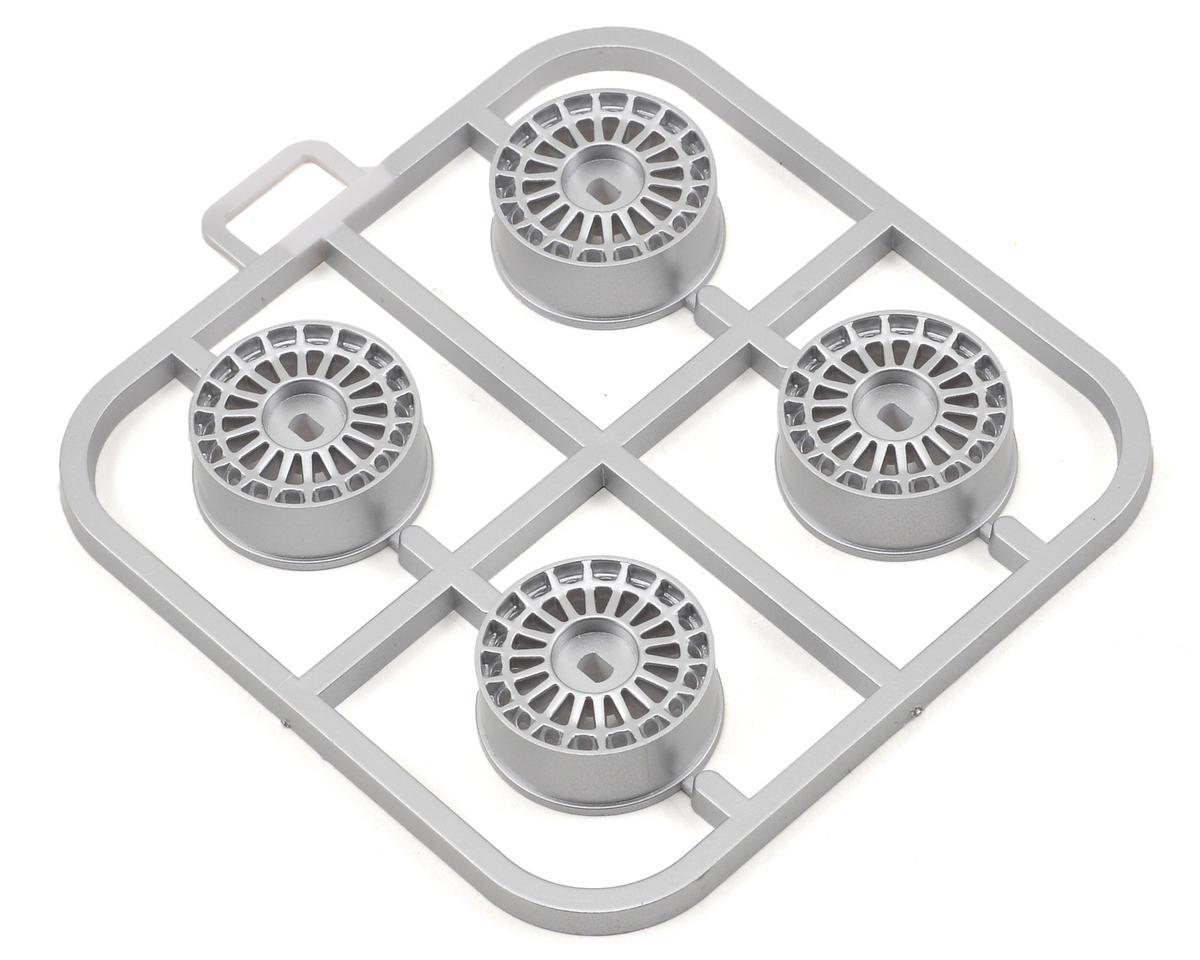 Kyosho Lancia Delta HF AWD Wheel Set (4) (Silver)