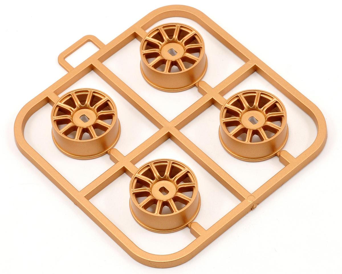 Kyosho Impreza AWD Wheel Set (4) (Gold)