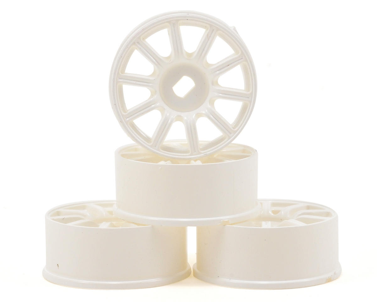 Kyosho MA-010/MA-015 Impreza AWD Wheel Set (4) (White)