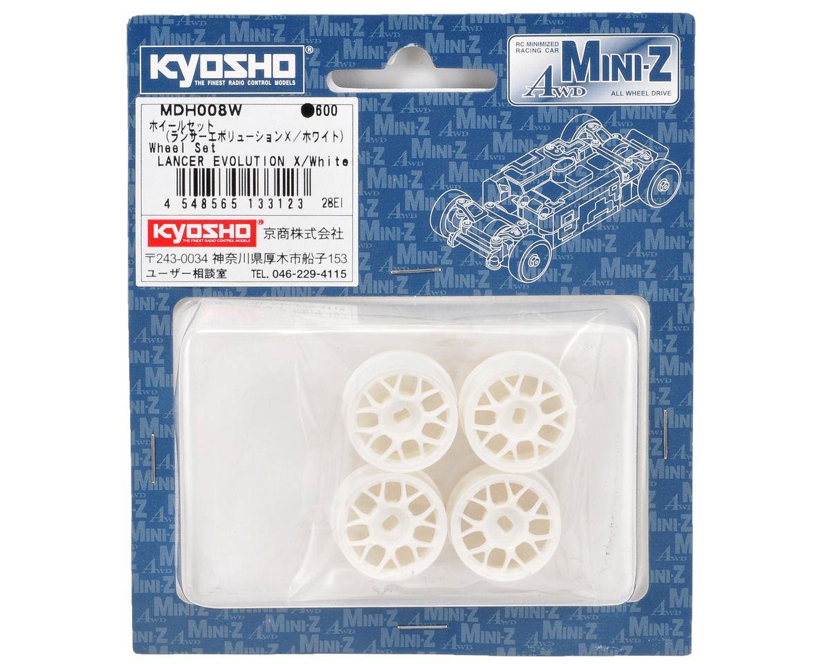 Kyosho Lancer Evo X AWD Wheel Set (4)