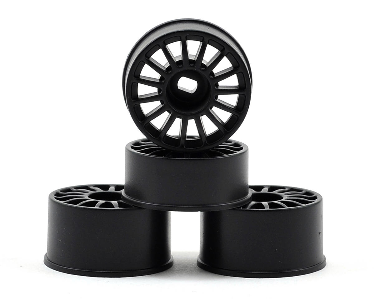 Kyosho Audi R8 LMS AWD Wheel Set (Black) (4)