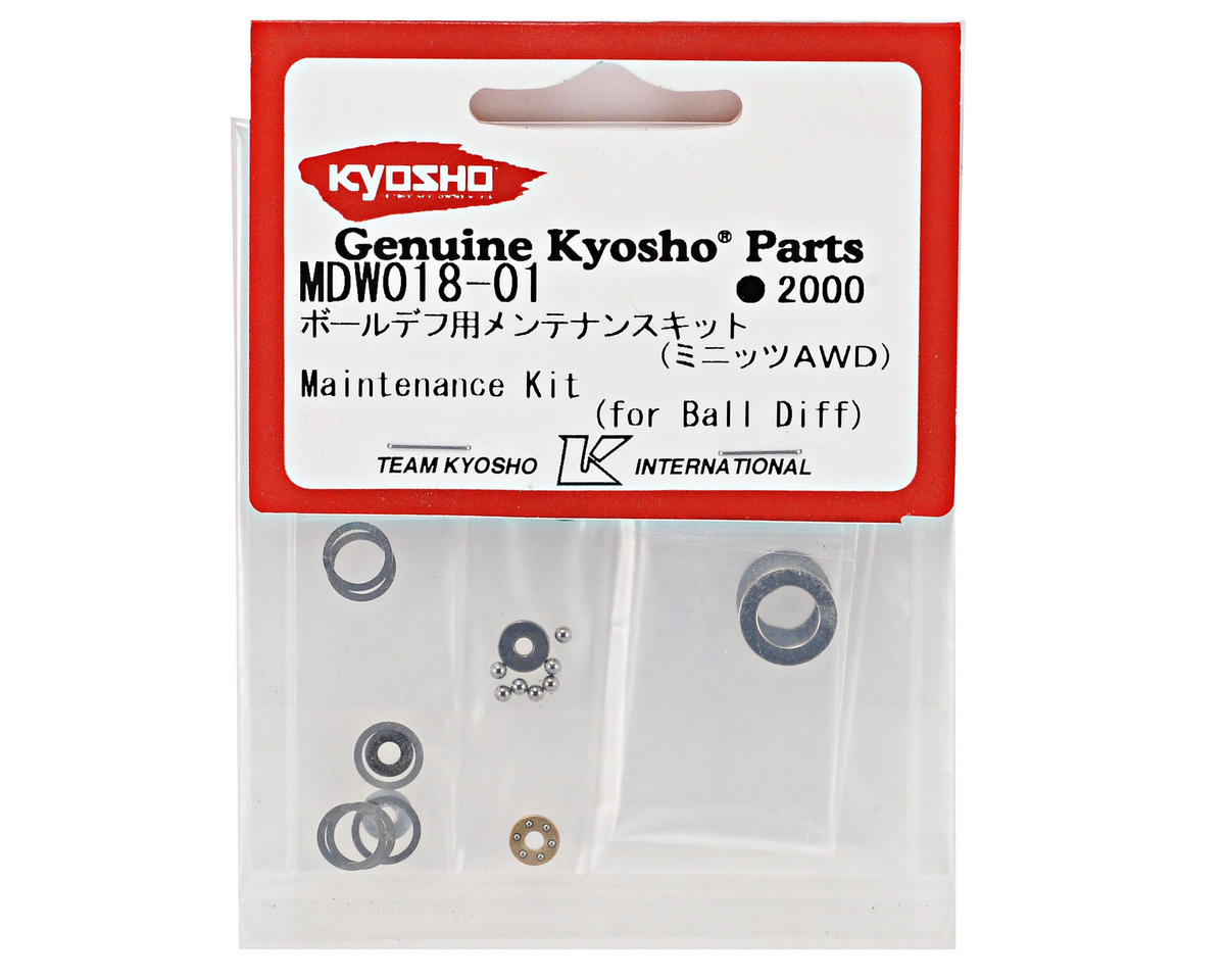 Kyosho AWD Ball Differential Maintenance Kit