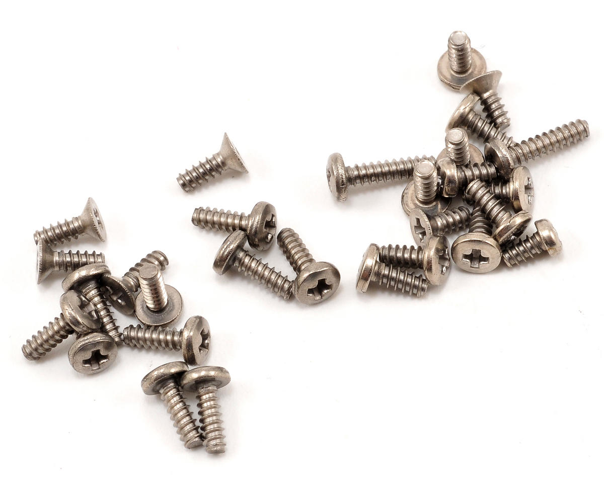 Kyosho Titanium Mini-Z AWD Screw Set (MA-010/MA-015)