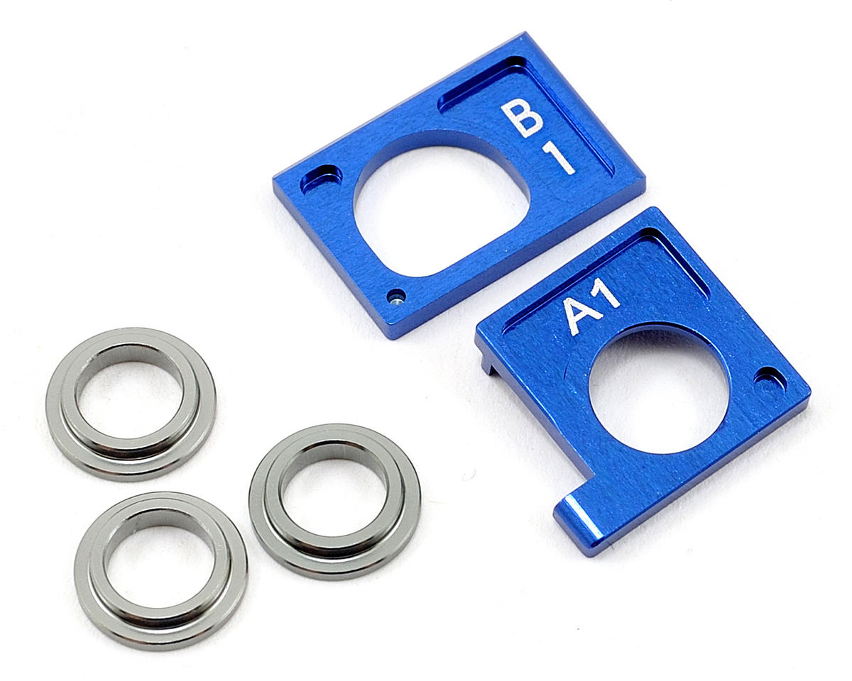 Kyosho Aluminum Motor Holder Set II (Blue)