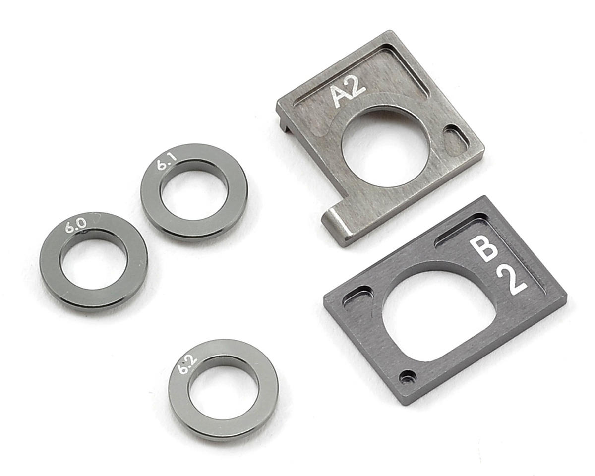 Kyosho MA-010/MA-015 Aluminum Motor Holder Set II (Gun Metal)