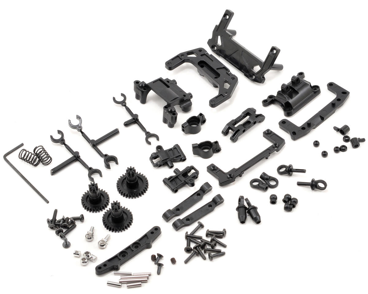 Kyosho awd rear double wishbone suspension set kyomdw100 for Suspension double