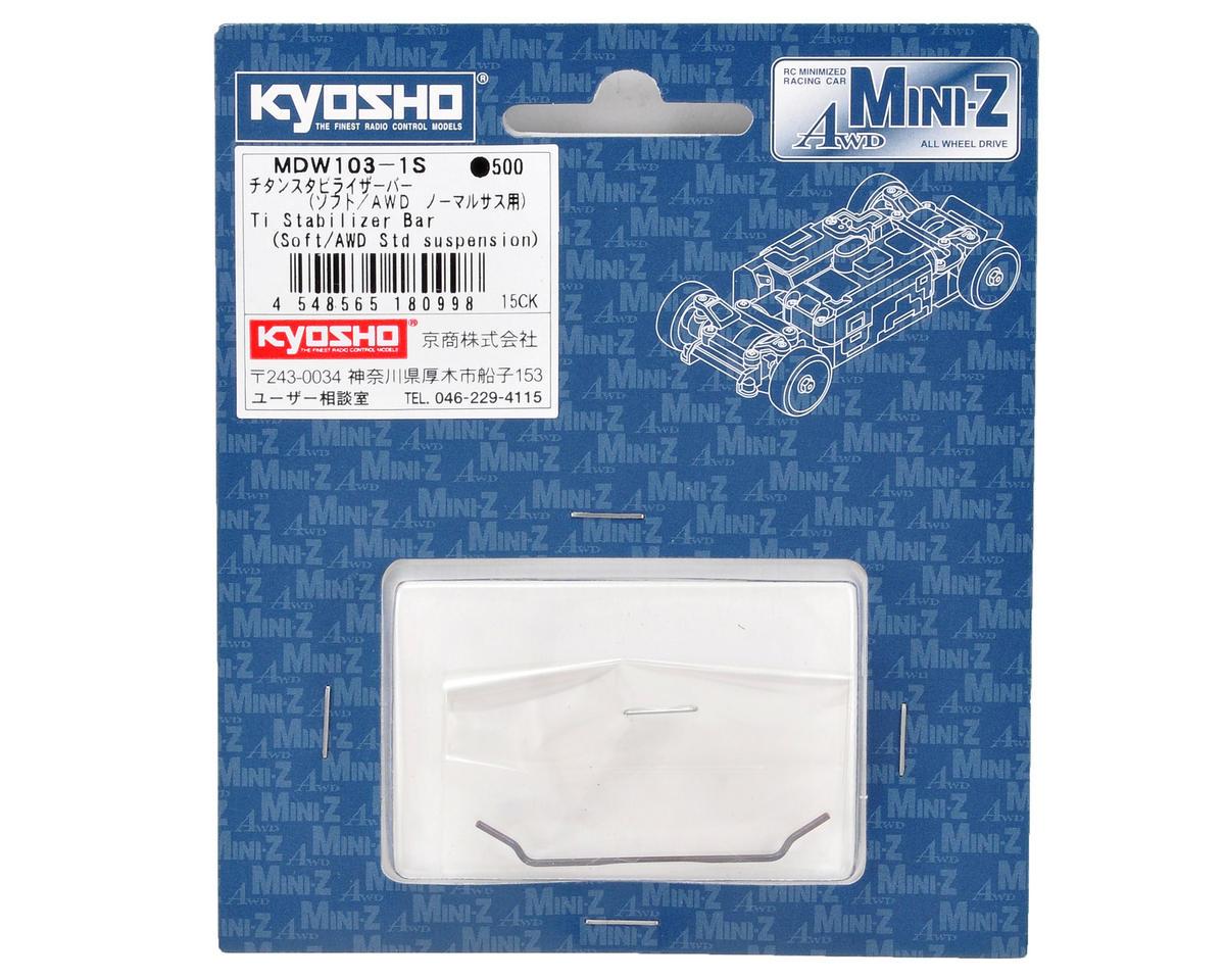 Kyosho Titanium Stabilizer Bar (Soft)
