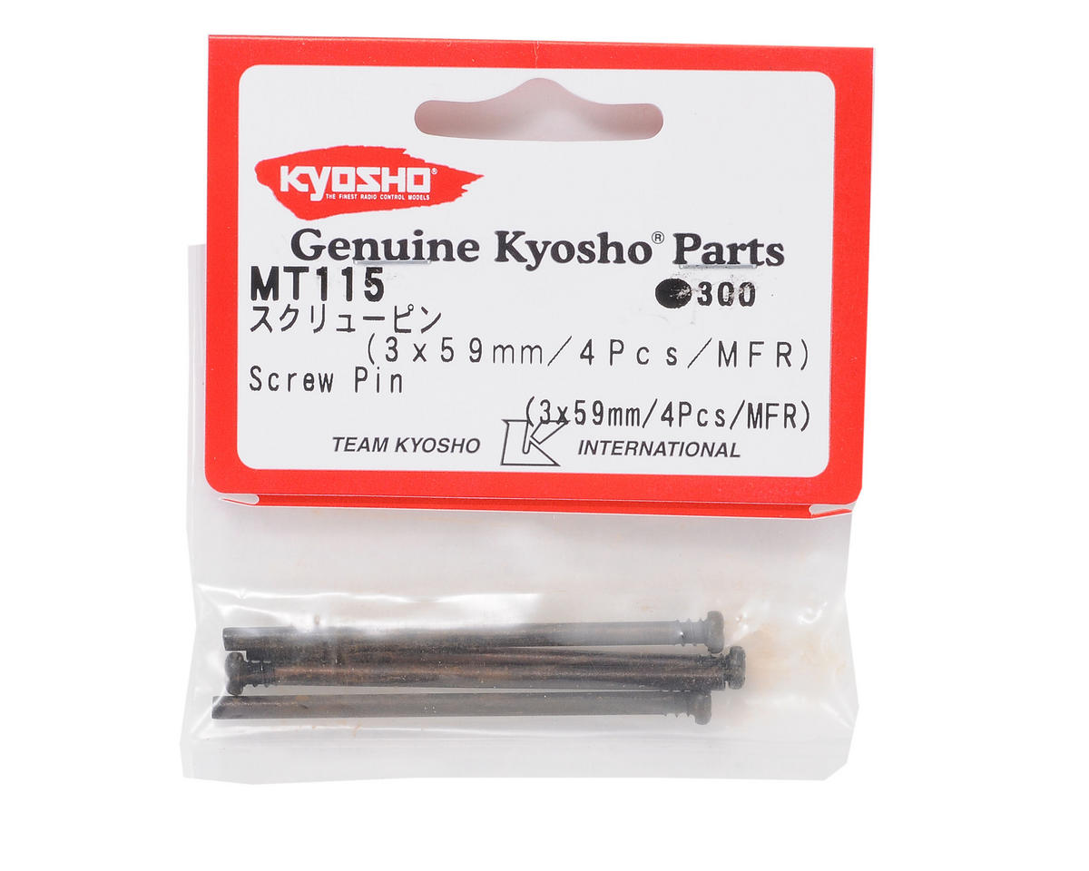 Kyosho 3x59mm Phillips Screw Pin (4)