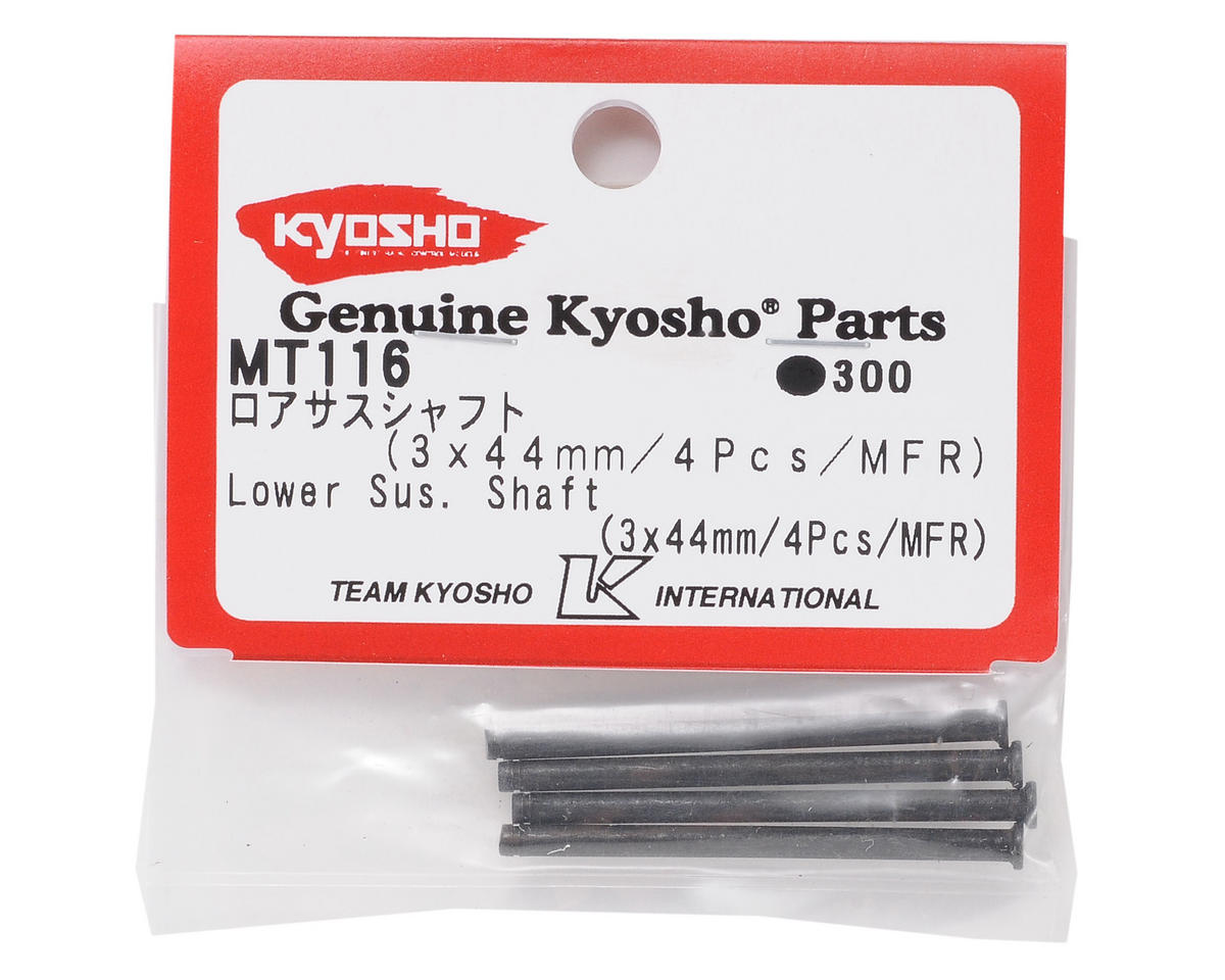Kyosho 3x44mm Lower Suspension Shaft (4)