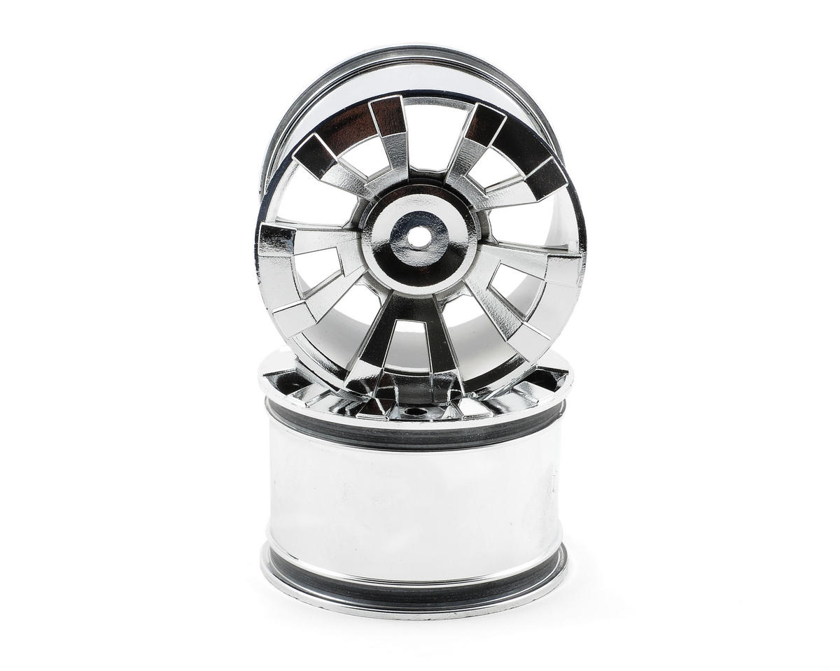Kyosho Silver Platige Wheel (2)