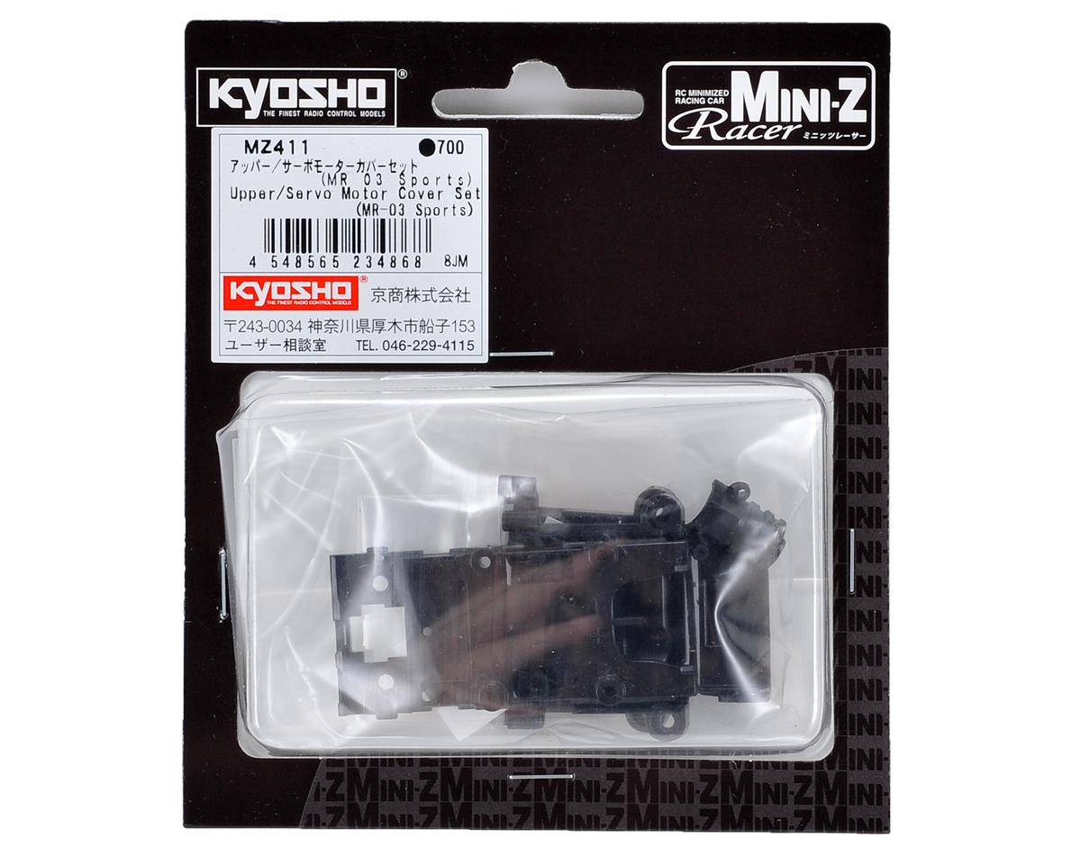 MR-03 Sports Upper/Servo Motor Cover Set by Kyosho