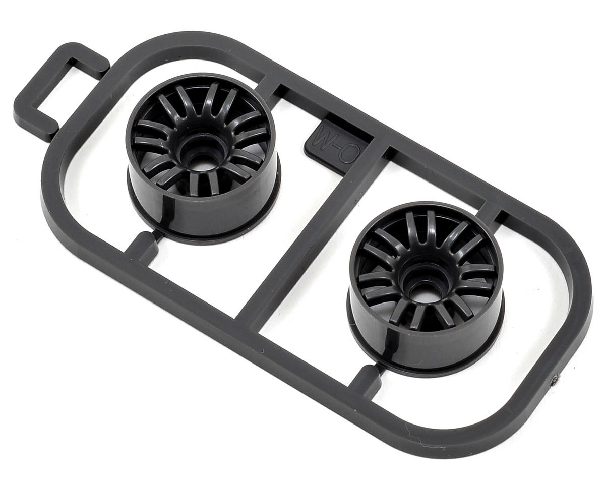 Kyosho 0mm Offset Wide RE30 Mini-Z Wheel Set (2) (MR-015/02/03) (Gray)