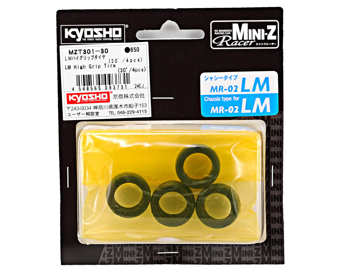 Kyosho LM High Grip Front Tire (4) (30 Shore)