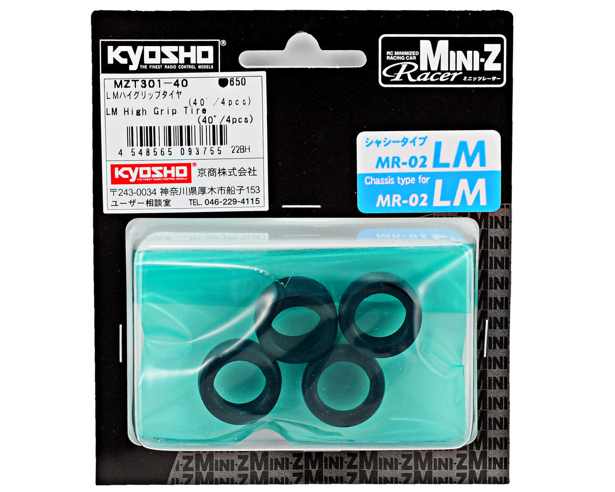 Kyosho LM High Grip Front Tire (4) (40 Shore)