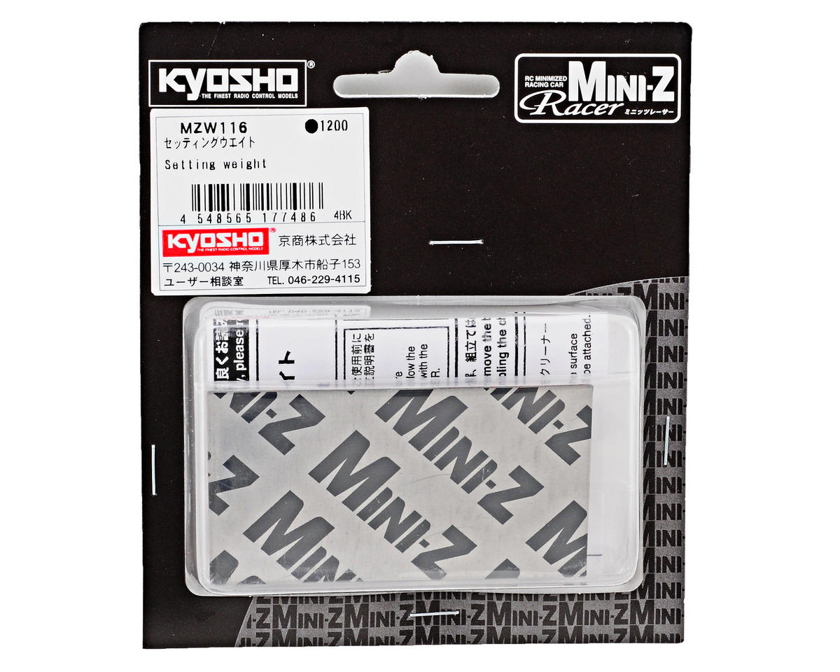 "Kyosho 2.5x1.5"" Mini-Z Setting Weight"