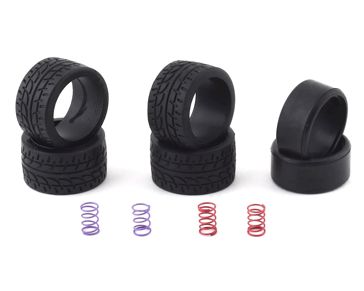 40 NEW Kyosho Mini-Z Series Low Height Slick Tire Set KYOMZW39-40