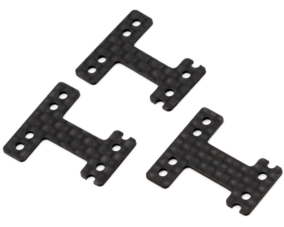 Kyosho RM-Type Carbon Fiber Rear Suspension Plate Set