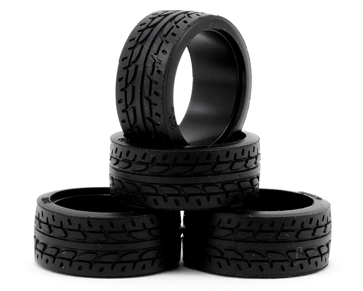 8.5mm Racing Radial Tire (4) by Kyosho