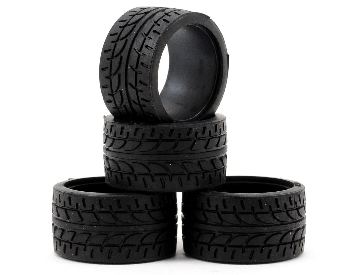 Kyosho 11mm Wide Racing Radial Tire (4) (30 Shore)
