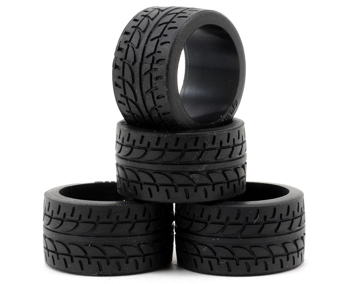 Kyosho 11mm Wide Racing Radial Tire (4) (40 Shore)