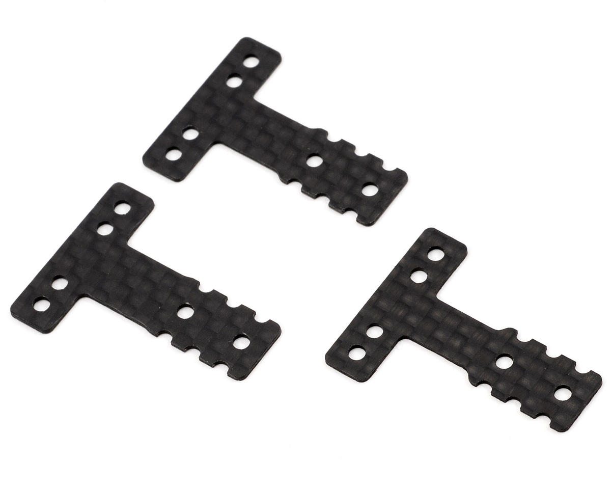 MM/LM-Type Carbon Fiber Rear Suspension Plate Set by Kyosho MR-03