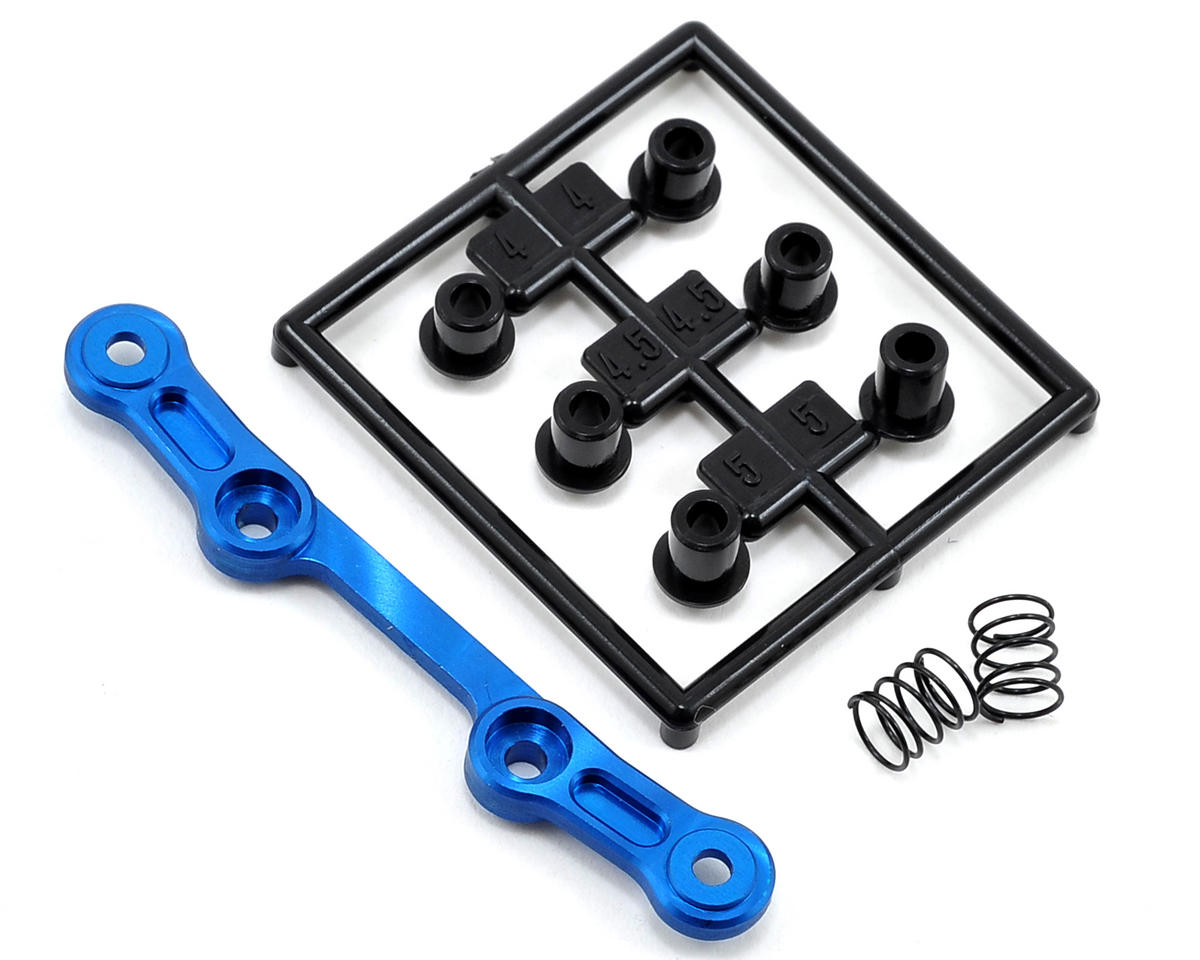 Kyosho MR-03 0° King Pin Coil Upper Suspension Plate (Narrow) (Blue)